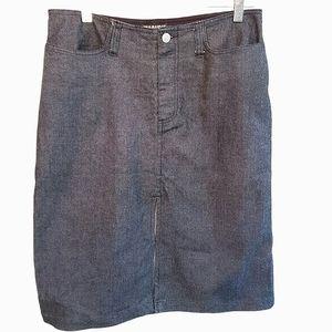 Polo Ralph Lauren Denim Skirt Women's 6 Midi
